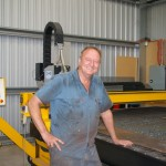 Pacific Manufacturing s Pete Shaw in front of his recently installed ART 4700HDP HyDefinition CNC plasma cutter. The quality, accuracy and consistency of the work have to be seen to be believed. We are doing work now we could never have dreamed of just a year ago.