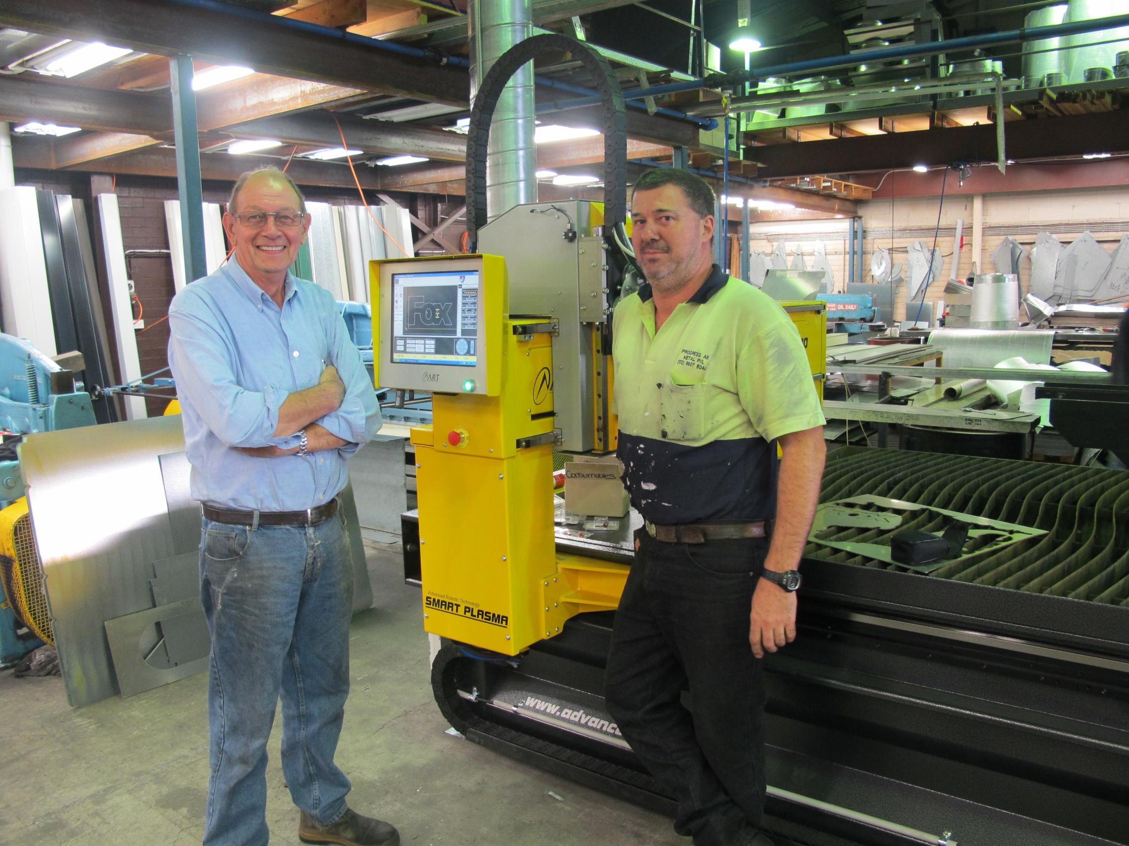 Progress Air Frank Van Winden and company owner Rod Peters