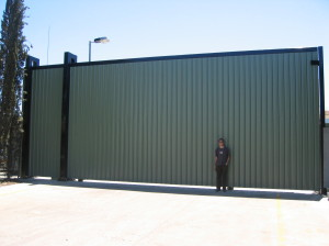 Simon Neil specialises in industrial and security gate manufacturing.